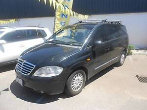 2007 Ssangyong Stavic Turbo Diesel People Mover 7 Seats Wangara Wanneroo Area Preview
