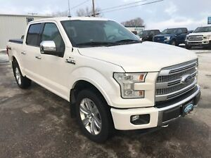 2015 Ford F-150 Platinum One Owner | Local Trade | Power Boards