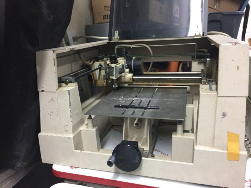 New Hermes VanGuard 3000 Engraving Macine