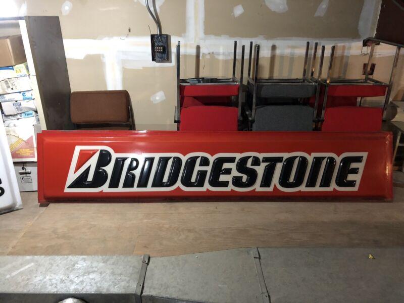10 X 2 Foot Bridgestone Lighted Sign