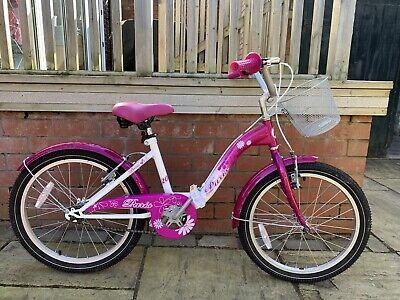 20 Inch Girls Pink Shopper Paris Bike