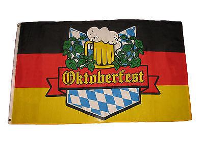 Oktoberfest Banner (3x5 German Bavarian Oktoberfest Octoberfest Beer Festival Flag 3'x5' Banner)