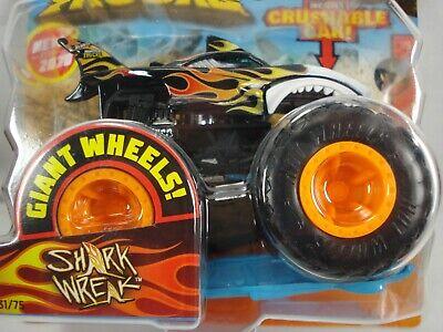 Hot Wheels Shark Wreak Monster Truck HW Flames Series 1/5 new for 2020 #31 of 75