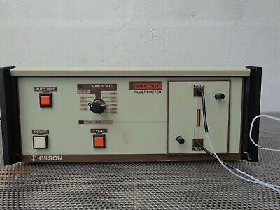 Gilson 121 Chromatography Measurement Fluorescence Hplc Detector Meter
