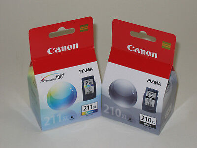 Canon Ip2702 Pg-210 Xl Cl-211 Xl Ink Mp270 Mp490 Mx330 Mp...