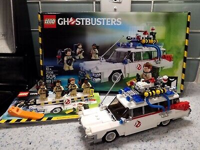 Lego Ideas Ghostbusters Ecto-1 Vehicle Complete Set #21108