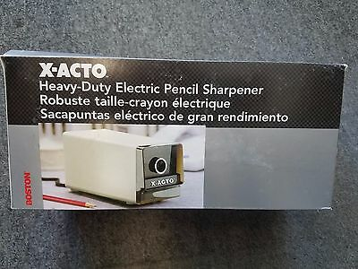 X-acto Electric Pencil Sharpener - 1714 Beige - 230v Not Us 110v