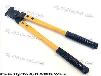 Sky High Car Audio 20 Cable Cutter For Aluminum Copper Wire 14 Up To 40 Awg