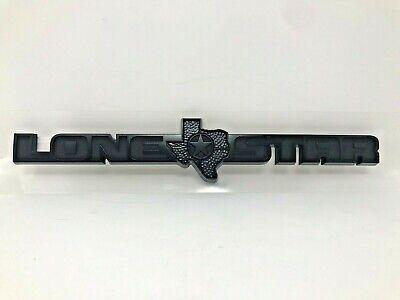 19-20 Ram 1500 DT Lone Star Emblem Black Nameplate Badge Factory Mopar New Oem