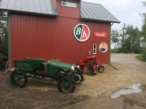 1928 model A Factory Tractor Conversion