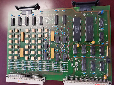 Netstal Control Card Poa 110.240.5437 Rev