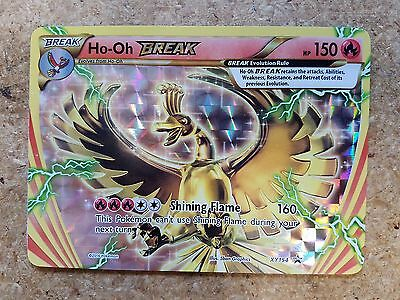 Pokemon Ho-Oh Break XY154 Black Star Promo Card (Normal/Regular - Break Cards