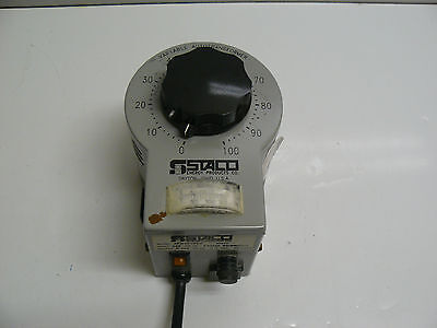 Staco 3pn1010bv Variable Auto Transformer Input 120 V 1 Ph 5060 Hz Output 0-140