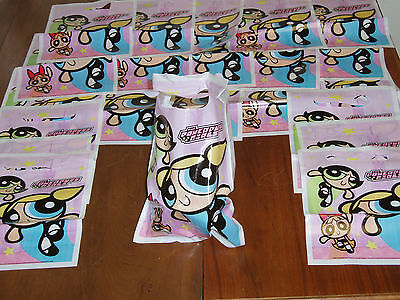 16 Powerpuff Girls Party Treat Loot Bags! Blossom Bubbles Buttercup Birthday