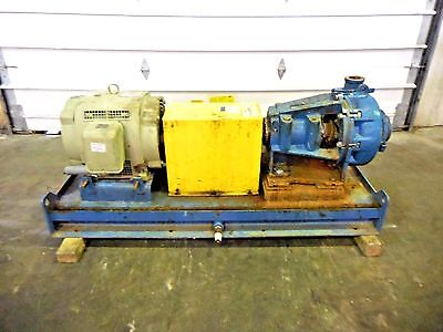 Rx-3643 Metso Hm100 Lhc-d 4 X 3 Slurry Pump W 40hp Motor And Frame