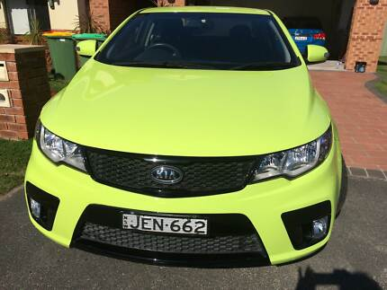 2010 Kia Cerato Koup MY10 - Just a Brilliant Car Umina Beach Gosford Area Preview