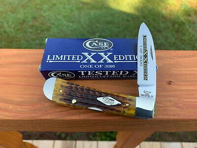 CASE XX TRIBAL LOCK KNIFE HONEYCOMB BONE TONY BOSE (1 OF 3000) UNUSED w/BOX 2019