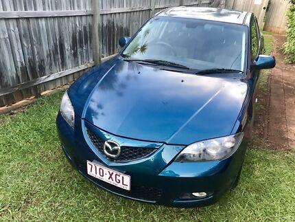 Sporty Mazda 3 MZR-CD Turbo diesel 2007 sedan CHEAP AS CHIPS