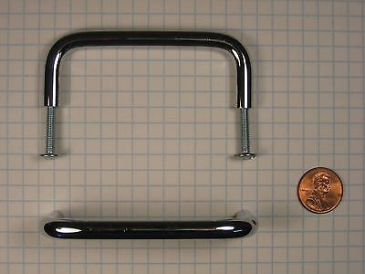 FERUM #PB1483-(POLISHED CHROME) WIRE PULL, SOLID BRASS,  3