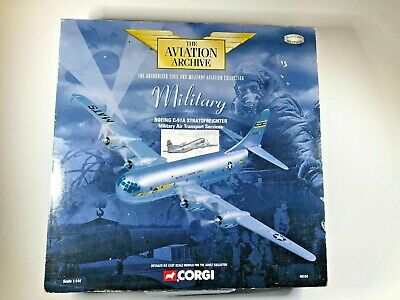 """CORGI DIECAST 1:144 SCALE AVIATION ARCHIVE """" BOEING C97A STRATOFREIGHT """" AA48104"""