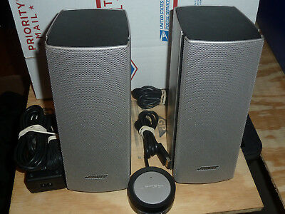 Bose Companion 20 Computer Speakers Multimedia Speaker System Laptop 120V