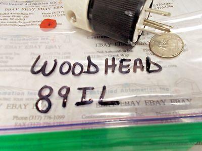 Woodhead 89il Power Plug 15a 125v