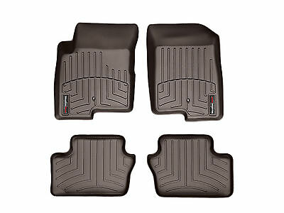 WeatherTech Car FloorLiner for Caliber/Compass/Patriot - 1st & 2nd Row - Cocoa