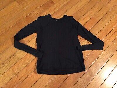 Lululemon Women's Stretch Knit Sweater Black Size 8