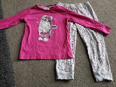 NWT Gymboree Girls Cool Cat Kitty Kitten Print 2PC Pajamas PJs Gymmies