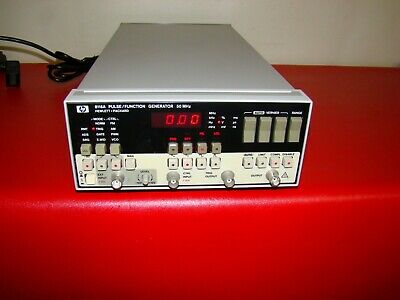 Hp Hewlett-packard 8116a 50mhz Pulsefunction Generator -free Shipping-