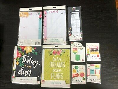 Planner Refills Monthly Weekly Budget To Do List Sticky Notes Stickers College
