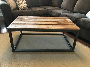 Handmade Barn Wood Coffee Table and End Tables (2)