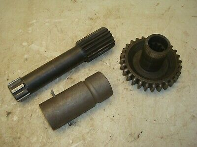 1955 Ferguson To-35 Gas Tractor Pto Transmission Couplers Drive Gears