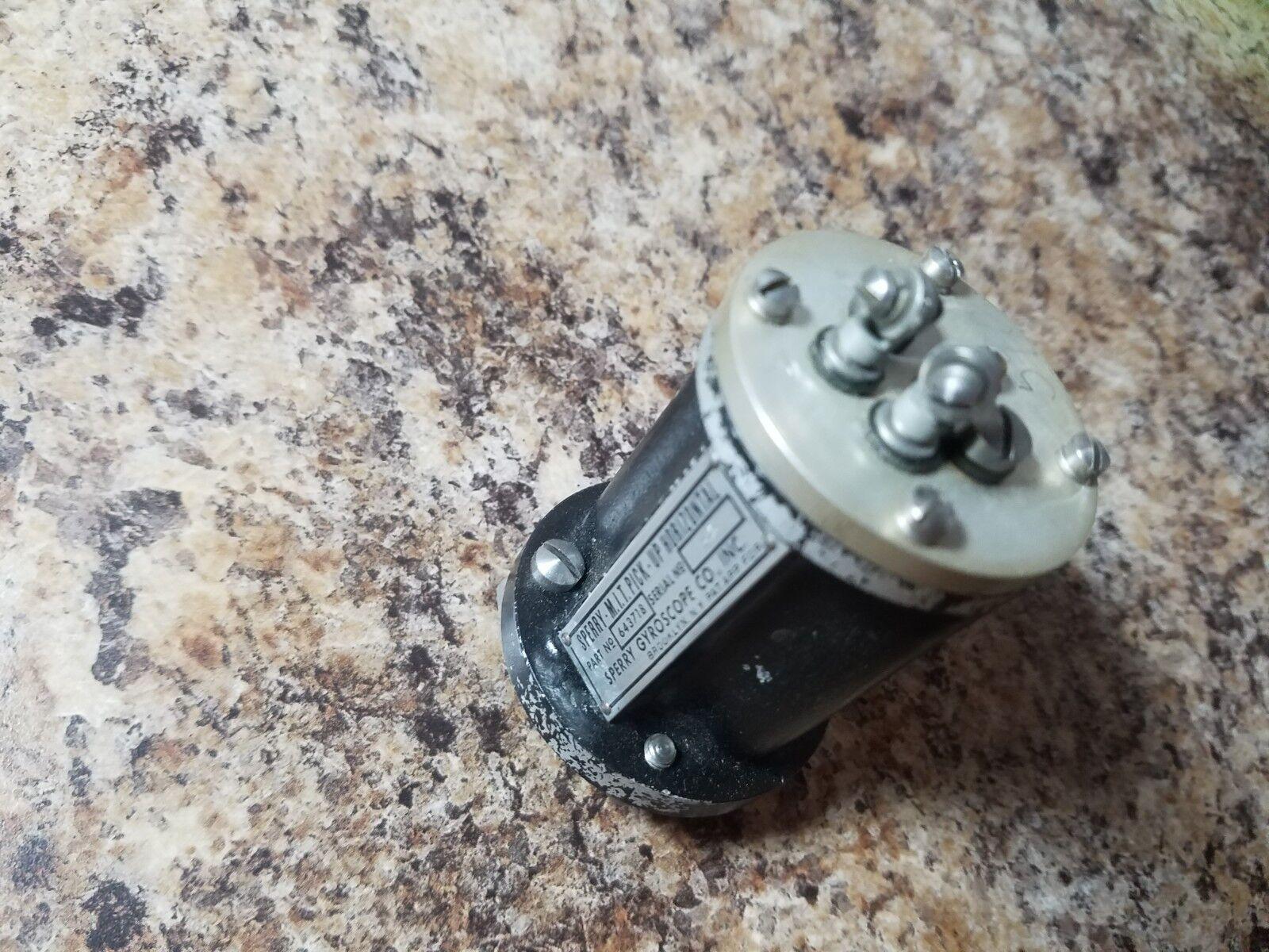 Sperry Autopilot M.I.T. Horizontal Pickup PN# 643718