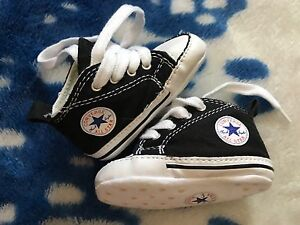 Converse all-star crib shoes baby size US 1