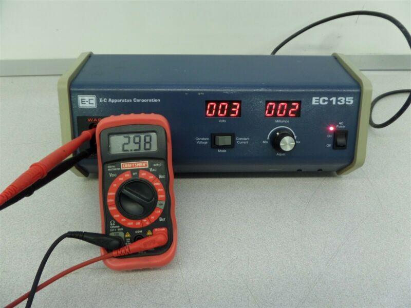 EC Apparatus Corporation EC135 Power Supply