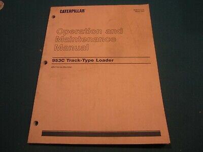 Caterpillar 953c Track Type Loader Operation And Maintenance Manual Mar. 2002
