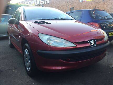 2001 Peugeot 206 XR Hatchback AUTOMATIC ONLY 48,017kms