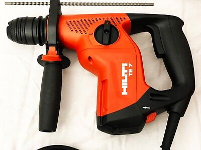 Hilti Te 7 Rotary Hammer Drill W Te Drs-m Dust Collector New W Warranty