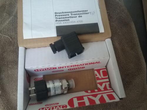 Hydac Electronic Pressure Transmitter HDA 4400/HDA 4700 4745-A-100-000 906729