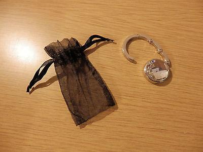 Handtaschenhalter von Florange - NEU + OVP, Taschenhaken, Aufhänger Schmuckstein