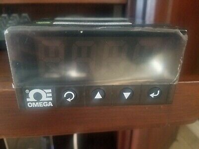 Omega Dpi8 Temperature And Process Meter Brand New In Box. Box Is Stained.