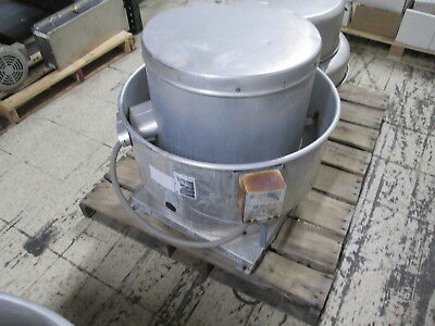 Greenheck Rooftop Exhaust Fan Cube-161hp-7-g Used