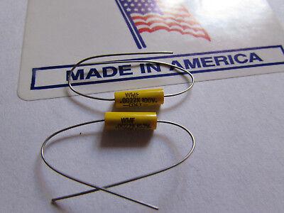 100v Polyester Film Capacitor - .0022uF, 100V, 10% Cornell Dubilier WMF Series Polyester Film Capacitor (Qty: 2)