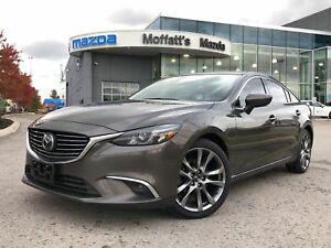 2016 Mazda Mazda6 GT-T GT LEATHER, BOSE, GPS, SUNROOF, HEADS UP