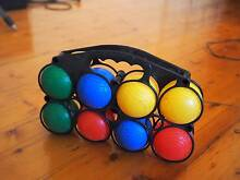 Awesome and colourful Petanque Set - Recreational Bocce Set North Melbourne Melbourne City Preview