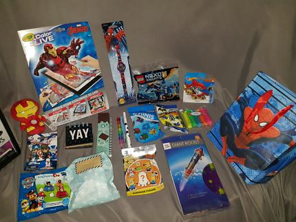 Boys superhero gift pack
