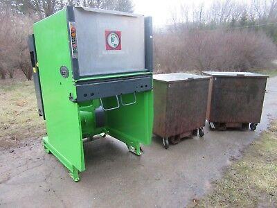 Bergmann Roto-compactor Trash Compactor Aps-600 Kenbay Rotopac Convience Store 3