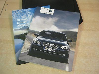 BMW 5 SERIES E60 - E61 SALOON &ESTATE  HANDBOOK OWNERS MANUAL 2007-2010 I DRIVE