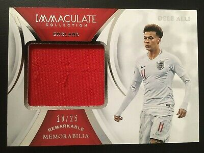 2018-19 Immaculate Collection Remarkable Memorabilia Jersey Dele Alli ed/25